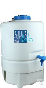 30 Liter Tank PE komplett einsetzbar für viele verschiedene Merck-Millipore-Reinstwasser-Systeme...
