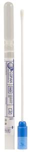 Swab with Amies medium clear, plastic shaft, cap blue Swab with Amies medium...