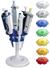 Pipettenständer Twister universal 336 für 6 Einkanal Pipetten, Diamantweiss Pipettenständer mit...