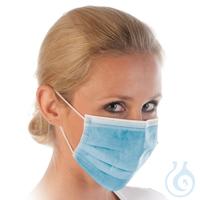 Nasen-Mund-Schutz für den Einmalgebrauch, unsteril Nasen-Mund-Schutz für den...
