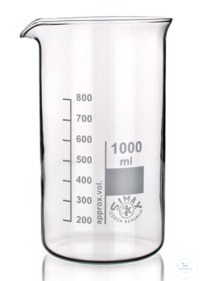 8Articles like: Beaker,HIGH FORM, Simax-Glass, 100ml, borosilicate glass 3.3; graduated, with...