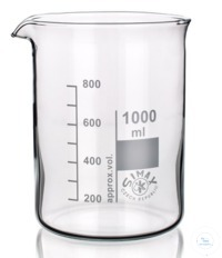 10Articles like: Beaker, LOW FORM, Simax, 20ml, borosilicate glass3.3; graduated, with spout...