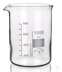 Bechergläser Niedrige Form, SIMAX, 20ml, BORO3.3 mit Graduierung und Ausguss