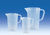 Messbecher, PP, 1000 ml, Messbecher, Polypropylen, erhabene Skala, 1000 ml Messbecher, PP, 1000...