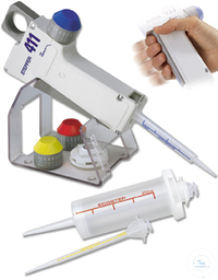 Stepper 411 Adjustable repeater pipette Highly comfortable pipette intended...