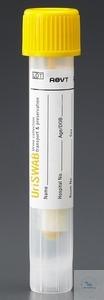 Uri-Swab Urine Collection System, cap yellow Uri-Swab Urine Collection...