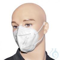 Atemschutzmasken FFP2 weiß Modell YX135 (30 Stck.)