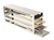 Comfort Rack (drawers) MTP for upright freezers for (HxD) 15x5=75 MTP`s; stainle Comfort Rack...