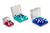 4 Artikel ähnlich wie: Box 50mmH PC rot 76x76mm 5x5 Tenak, Polycarbonate Kryobox, 50mm H, rot,...