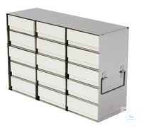233artículos como: Standard Rack for upright freezers (HxW) 7x3=21 boxes 32mm H; stainless...