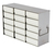 229Artikelen als: Standard Rack for upright freezers (HxW) 7x5=35 boxes 40mm H; stainless...