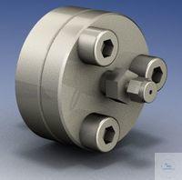 Edelstahl Inline-Filterhalter-Set für organische Lösemittel Hinter der...