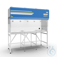 3samankaltaiset artikkelit ChemFAST Elite 1.2m Laborabzug Umluft gemäß EN ISO 14175-3...