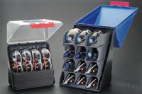 2Artículos como: Aufbewahrungsbox-Midi mit transparentem Deckel für 4 Schutzbrillen...