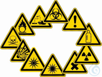 Warning Labels, WINLAB® Warning about inflammable substances Warning Labels, WINLAB®    In...