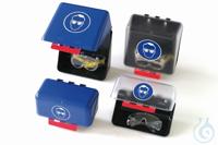 Aufbewahrungsbox-Mini für Schutzbrillen (transparent)