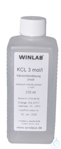 Spare KCl solution, 3 mol, 250 ml Spare KCl solution, 3 mol, 250 ml
