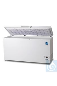 2Articles like: XLT C400 Chest freezer, 383 l., -45°C to -60°C Main and central storage...