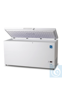 XLT C500 Chest freezer, 495 l., -45°C to -60°C Main and central storage...
