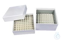 Cryoboxen,  Cardboard for 2ml Tubes