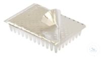 Aluminum 384-well PCR Plate Sealing Foil, 125.4 x 82.5mm