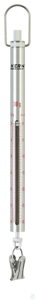 Federwaage, Max 30 g; d=0,25 g Max 30 g, d= 0,25 g Skalenrohr aus Aluminium:...