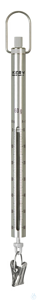Spring Scale, Max 60 g; d=0,25 g Max 60 g, d= 0,25 g Aluminium scale tube: robust, long service...