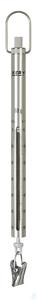 Federwaage, Max 60 g; d=0,25 g Max 60 g, d= 0,25 g Skalenrohr aus Aluminium:...