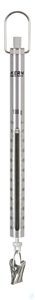 Spring Scale, Max 100 g; d=1 g Max 100 g, d= 1 g Aluminium scale tube: robust, long service life,...