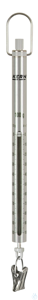 Spring Scale, Max 300 g; d=2 g Max 300 g, d= 2 g Aluminium scale tube: robust, long service life,...
