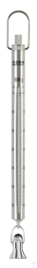 Federwaage, Max 600 g; d=5 g Max 600 g, d= 5 g Skalenrohr aus Aluminium:...