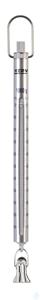 Federwaage, Max 1000 g; d=10 g Max 1000 g, d= 10 g Skalenrohr aus Aluminium:...