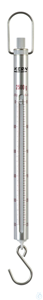 Spring Scale, Max 2500 g; d=20 g Max 2500 g, d= 20 g Aluminium scale tube:...