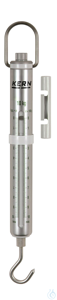 Spring Scale, Max 10000 g; d=100 g Max 10000 g, d= 100 g Aluminium scale tube: robust, long...