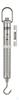 Federwaage, Max 10000 g; d=100 g Max 10000 g, d= 100 g Skalenrohr aus...