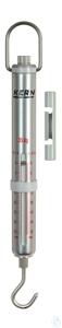 Spring Scale, Max 35 kg; d=0,5 kg Max 35 kg, d= 0,5 kg Aluminium scale tube:...
