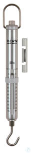 Spring Scale, Max 50 kg; d=0,5 kg Max 50 kg, d= 0,5 kg Aluminium scale tube:...