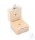 Holzetui 1 x 1 g, E1 + E2 + F1, gepolstert Einzelgewicht, Knopfform,...