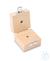 Holzetui 1 x 2g, E1 + E2 + F1, gepolstert Einzelgewicht, Knopfform, Edelstahl...
