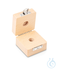 Wooden box 1 x 20 g, E1 + E2 + F1, upholstered Individual weight,...