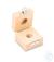 Holzetui 1 x 50 g, E1 + E2 + F1, gepolstert Einzelgewicht, Knopfform,...