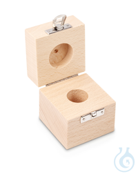 Wooden box 1 x 100 g, E1 + E2 + F1, upholstered Individual weight,...