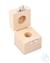 Holzetui 1 x 100 g, E1 + E2 + F1, gepolstert Einzelgewicht, Knopfform,...