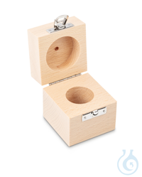 Wooden box 1 x 200 g, E1 + E2 + F1, upholstered Individual weight,...