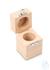 Holzetui 1 x 500 g, E1 + E2 + F1, gepolstert Einzelgewicht, Knopfform,...