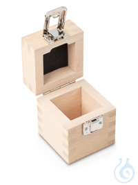 Wooden box 1 x 1 kg, E1 + E2 + F1, upholstered Individual weight,...