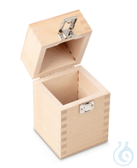 Wooden box 1 x 5 kg, E1 + E2 + F1, upholstered Individual weight,...