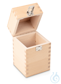 Wooden box 1 x 10 kg, E1 + E2 + F1, upholstered Individual weight,...