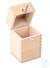 Holzetui 1 x 10 kg, E1 + E2 + F1, gepolstert Einzelgewicht, Knopfform,...