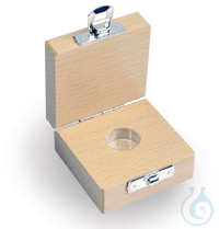 Wooden box for, individual Milligram Material: wood For weight classes E1–M3